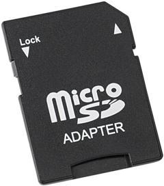 Adaptateur MicroSD vers SD