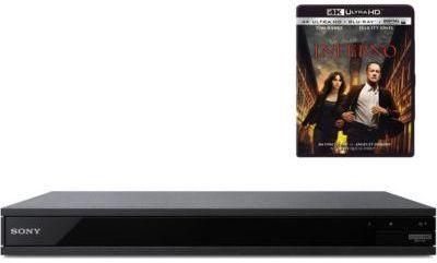 Lecteur Blu-Ray 4K Sony UBPX800