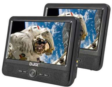 Lecteur dvd portable D-JIX