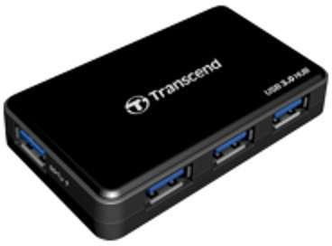 TS-HUB3K Transcend HUB 3 Concentrateur