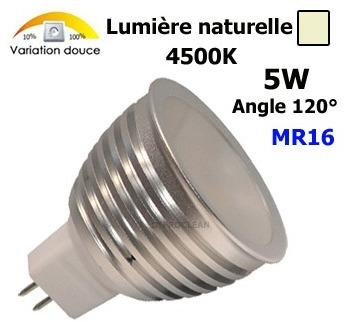 Ampoule spot Led MR16 6W 12V-24V