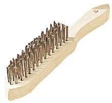 Brosse métallique à manche