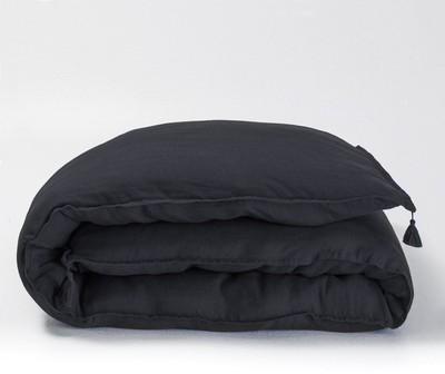 ampm housse de couette en lin housse de couette lin ampm lgant fantastiqu housse de couette lin. Black Bedroom Furniture Sets. Home Design Ideas