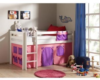lit surlev combi girly blanc et rose anniversaire 40 ans. Black Bedroom Furniture Sets. Home Design Ideas