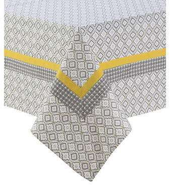 Nappe jaune 140x250cm - ALIZEE