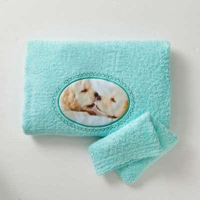Serviette gant de toilette