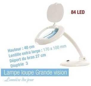 Lampe loupe 56 SMD Led