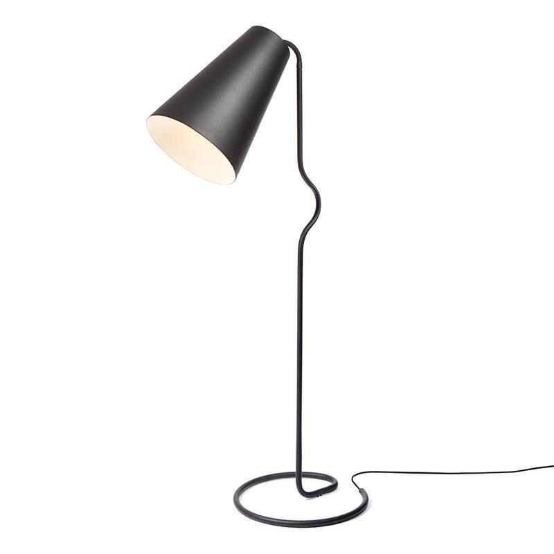 BENDER - Liseuse Noir H165cm