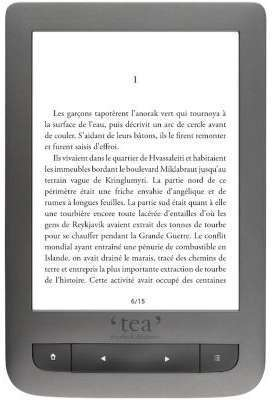 Liseuse eBook TEA Touch Lux