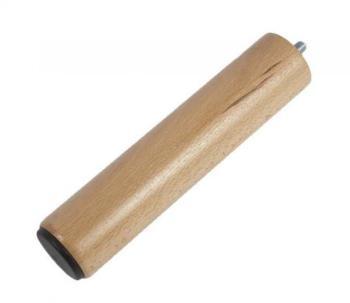 Pied cylindrique 20 cm filetage