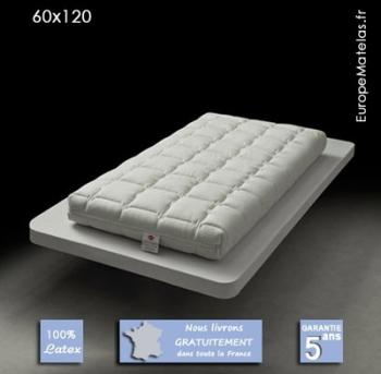 dorlux matelas bb accueil latex 70 x 140 cm. Black Bedroom Furniture Sets. Home Design Ideas