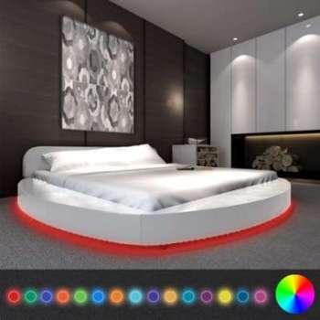 VidaXL Cadre de lit avec LED