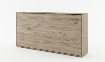 Lit mural escamotable horizontal