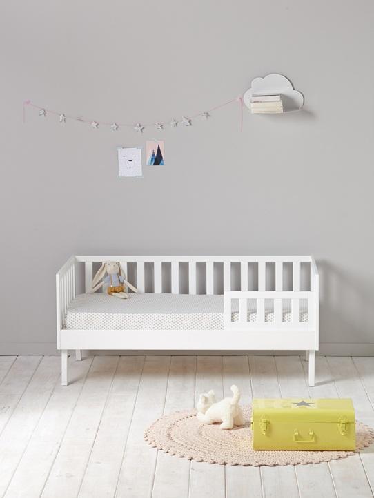 LIT BANQUETTE ENFANT blanc
