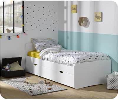 Lit Enfant Willow Blanc 90x190