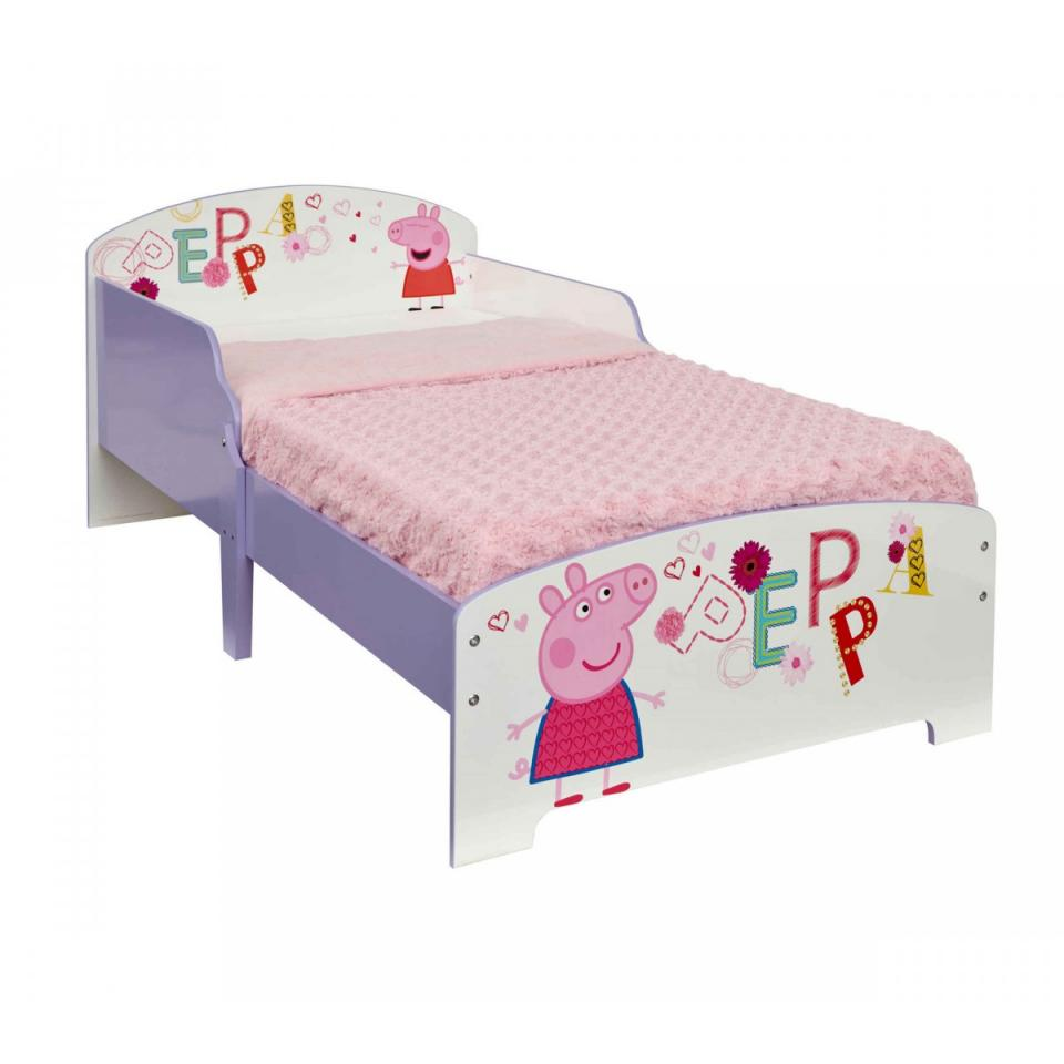 aucune peppa pig tapis enfant 95x133cm. Black Bedroom Furniture Sets. Home Design Ideas