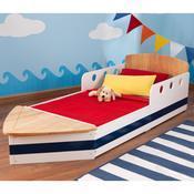 Lit bateau en bois couchage