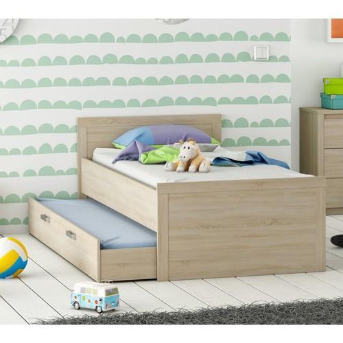 terre soldes lit enfant canap bois massif taupe tiroir. Black Bedroom Furniture Sets. Home Design Ideas
