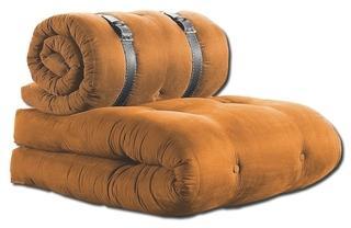 Futon Fauteuil Orange 70