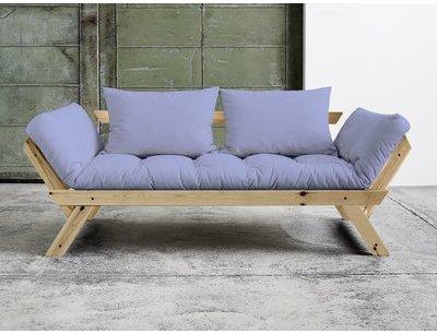 Canapé convertible en bois