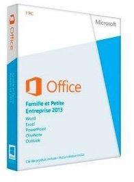 Microsoft Office 2013 Famille