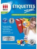 Etiquettes multi-usages