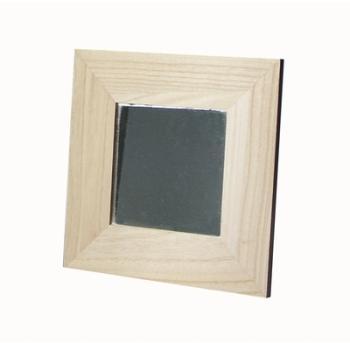 Miroir ovale cadre dor for Miroir avec cadre en bois