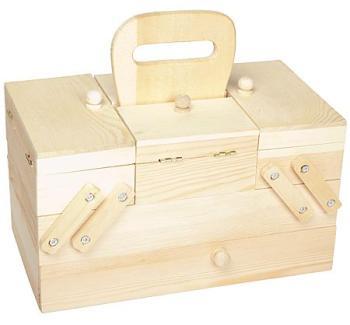 Boîte à couture en bois 26