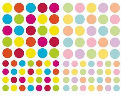 4 planches formes et couleurs