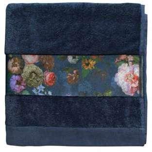 Drap de bain Fleur Bleu 70