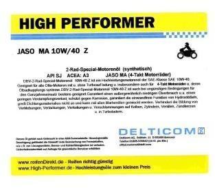 Pneu High Performer 10W-40