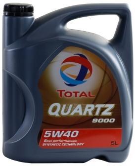 Pneu Total QUARTZ 9000 5W-40