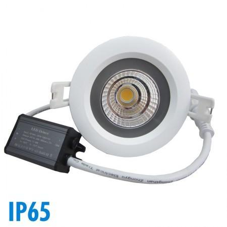 Vision gu10 6w cob 6000k dimmable el - Spot led couleur encastrable plafond ...