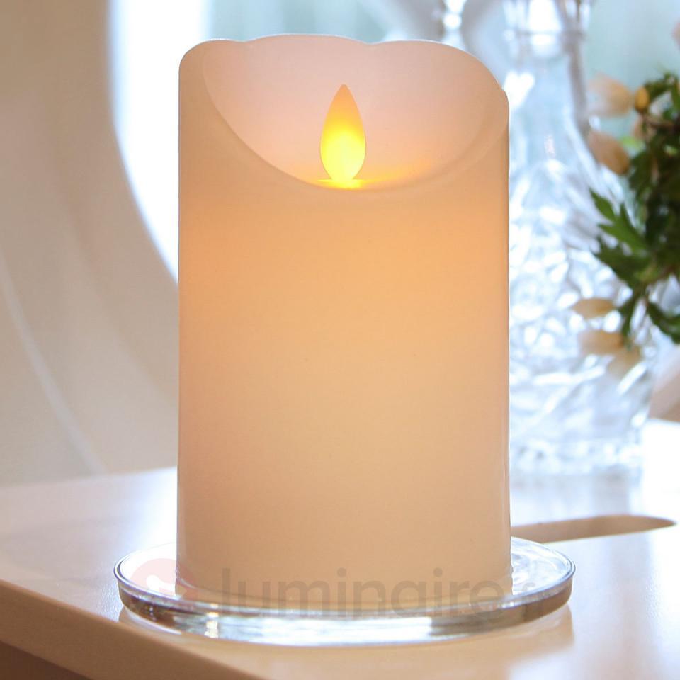 Bougie blanche LED Glim avec