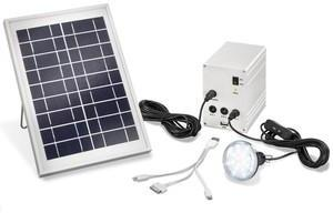 Kit eclairage chargeur solaire