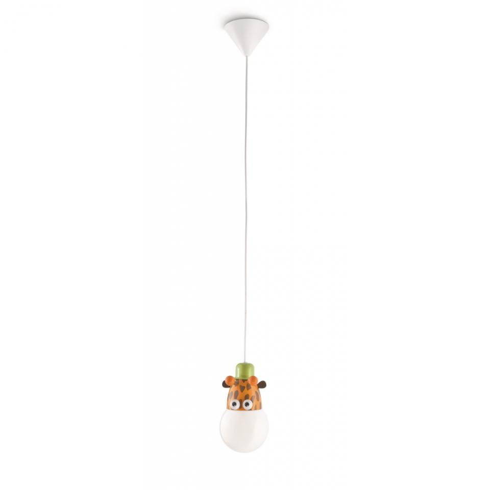 Plafonnier kaya verre 60w for Luminaire chambre d enfant