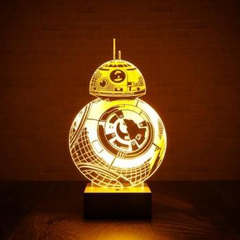 Lampe Star Wars BB-8 effet