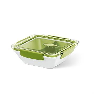 Boîte repas Bento carrée vert