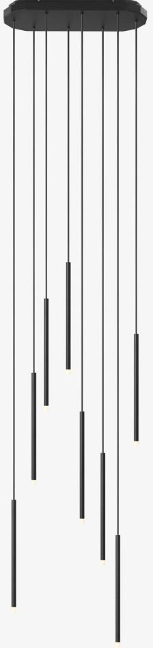 Array LED - Lustre - noir