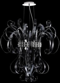 Ciocca - Lustre - noir chrome
