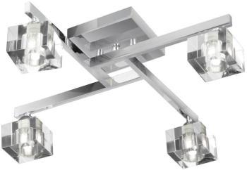 Plafonnier 4 ampoules Sculptured