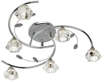 Plafonnier 6 ampoules Sierra