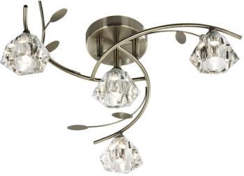 Plafonnier 4 ampoules Sierra