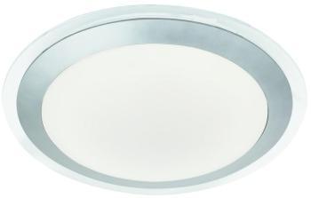 Plafonnier LED argenté