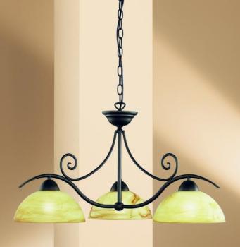 Lustre 3 lampes classique
