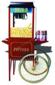 Chariot pour machine à pop-corn