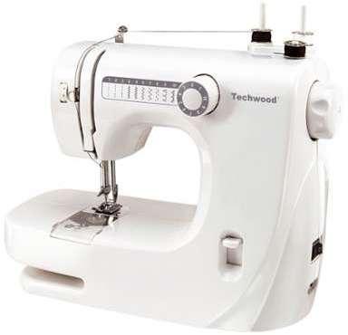 Machine à coudre 10 pts Techwood