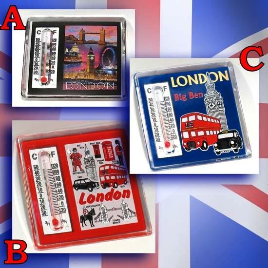 Magnet thermomètre London