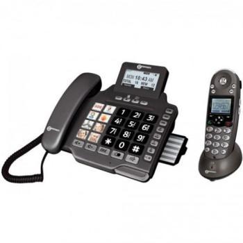 Duo téléphones fixes répondeur