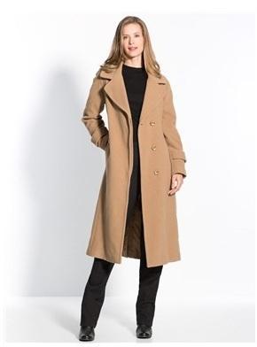 BALSAMIK Manteau long en drap